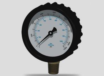 манометр высокого давления в сборе
